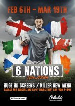 6 Nations / 6th Feb - 19th March 2016
