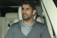 Diego Costa seen leaving Libertines Night Club later in the night