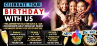 RUMBA QUEENS NY BIRTHDAY PACKAGE