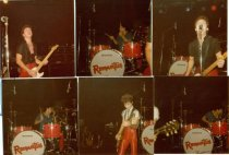 (The Romantics were one of many popular rock bands to play at Brassy's Night Club during the 1980's. Image courtesy of Georgie Rockwood & width=