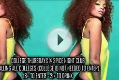 College Thursdays @ Spice Night Club! (Detroit)