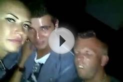 FUNNY DANCE IN NIGHT CLUB