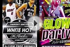 ICTV1 DELUX NIGHTCLUB DELRAY BEACH POST MIAMI HEAT GLOW PARTY