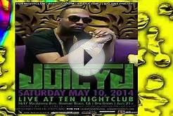 Juicy J Live @ Ten Nightclub in Newport Beach, California