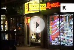 Late 1990s Soho at Night, London, Sex Shops, Seedy