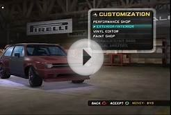 Midnight Club: Los Angeles (Xbox 360) Garage Introduction