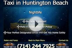 Taxi cab In Huntington Beach - Nightlife huntington beach - CA