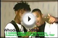 Whodini Live 1994 @ CANNONS NIGHT CLUB IN LONG BEACH Ca.