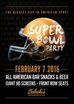 Where to watch the The Superbowl 50 in London, Bath and Edinburgh